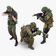 Asker Paketi 3d model