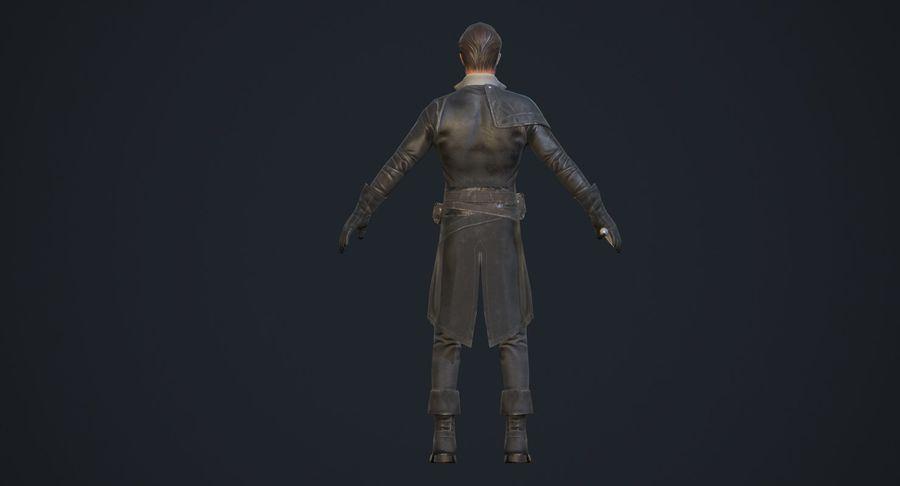 Rogue Hero Rigged Hero royalty-free 3d model - Preview no. 10