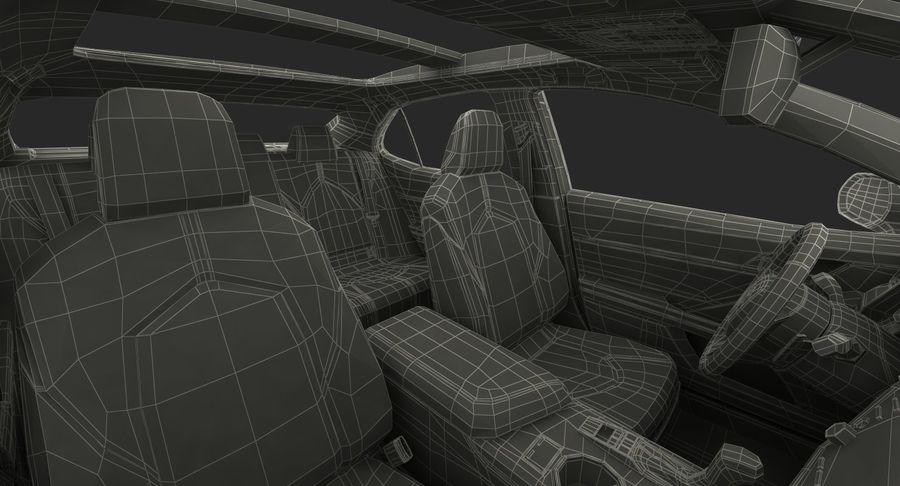 토요타 캠리 2018 royalty-free 3d model - Preview no. 39