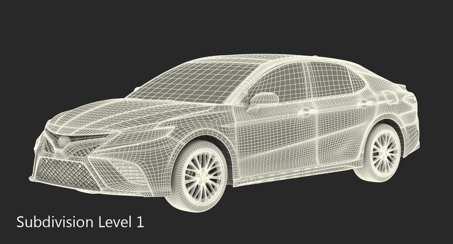 토요타 캠리 2018 royalty-free 3d model - Preview no. 26