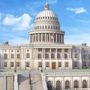 Campidoglio degli Stati Uniti, Washington, DC 3d model