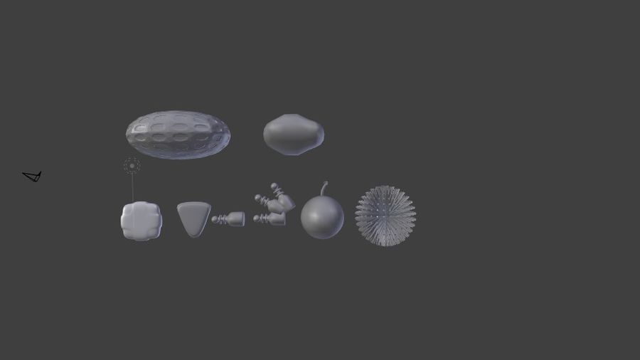 Uzay Paketi Varlığı royalty-free 3d model - Preview no. 7