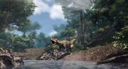 Allozaur Jurassic Dinosaur 3d model