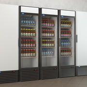 Refrigerated cabinets 3d model