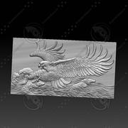 Adler auf dem Meer 3d model