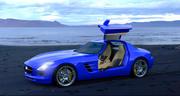 Mercedes Benz SLS 3d model