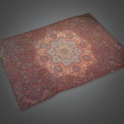 Old Rug 02 (Antiques) - PBR Game Ready 3d model