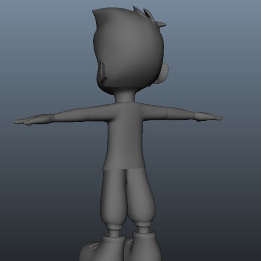 character royalty-free 3d model - Preview no. 1