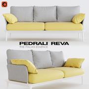 雷瓦沙发 3d model