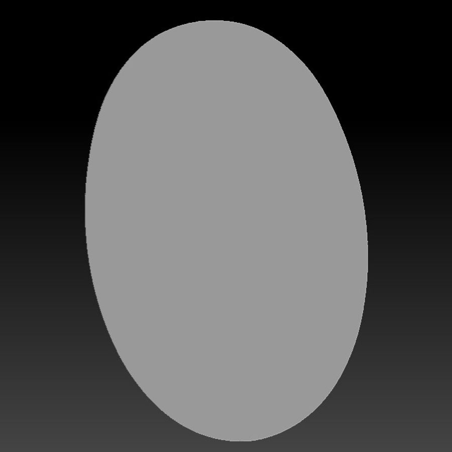Głowa smoka royalty-free 3d model - Preview no. 5