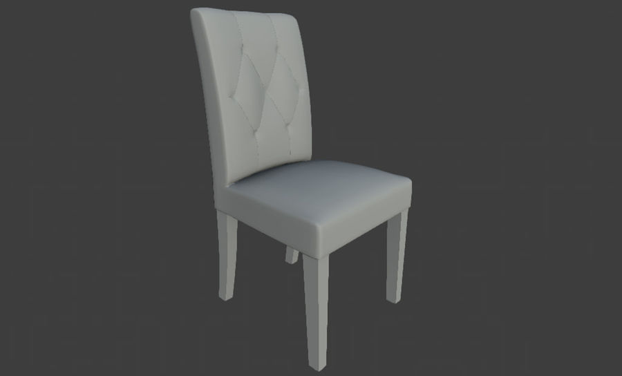 PBR Chair Furniture royalty-free 3d model - Preview no. 5