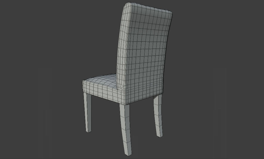 PBR Chair Furniture royalty-free 3d model - Preview no. 4