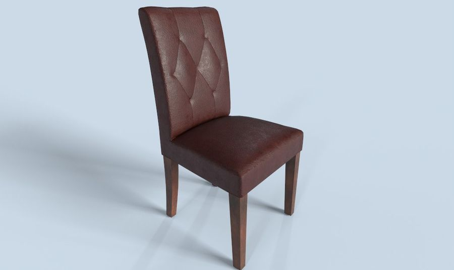 PBR Chair Furniture royalty-free 3d model - Preview no. 1