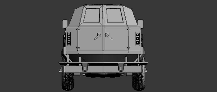 Military Vehicle Unique Concept royalty-free 3d model - Preview no. 5
