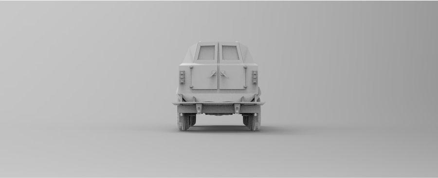 Military Vehicle Unique Concept royalty-free 3d model - Preview no. 11