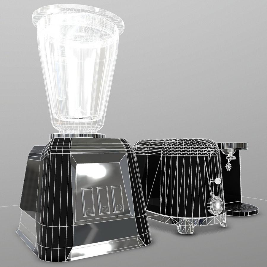 調理器具 royalty-free 3d model - Preview no. 4