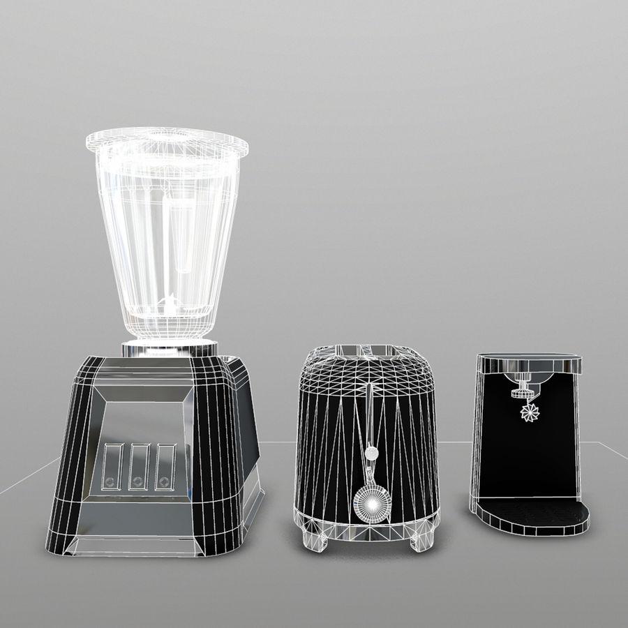 調理器具 royalty-free 3d model - Preview no. 2