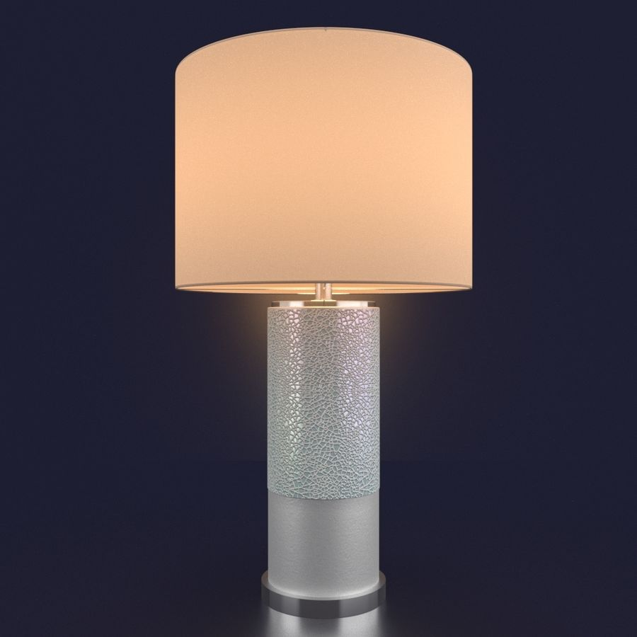 CHIAZZA TABLE LAMP royalty-free 3d model - Preview no. 4