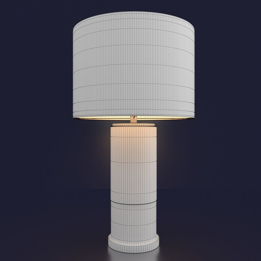 CHIAZZA TABLE LAMP royalty-free 3d model - Preview no. 3