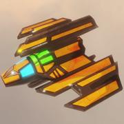 SF宇宙船の逆襲 3d model