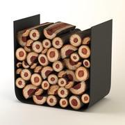 yakacak odun tutucu 3d model