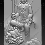 quattro Buddha 3d model