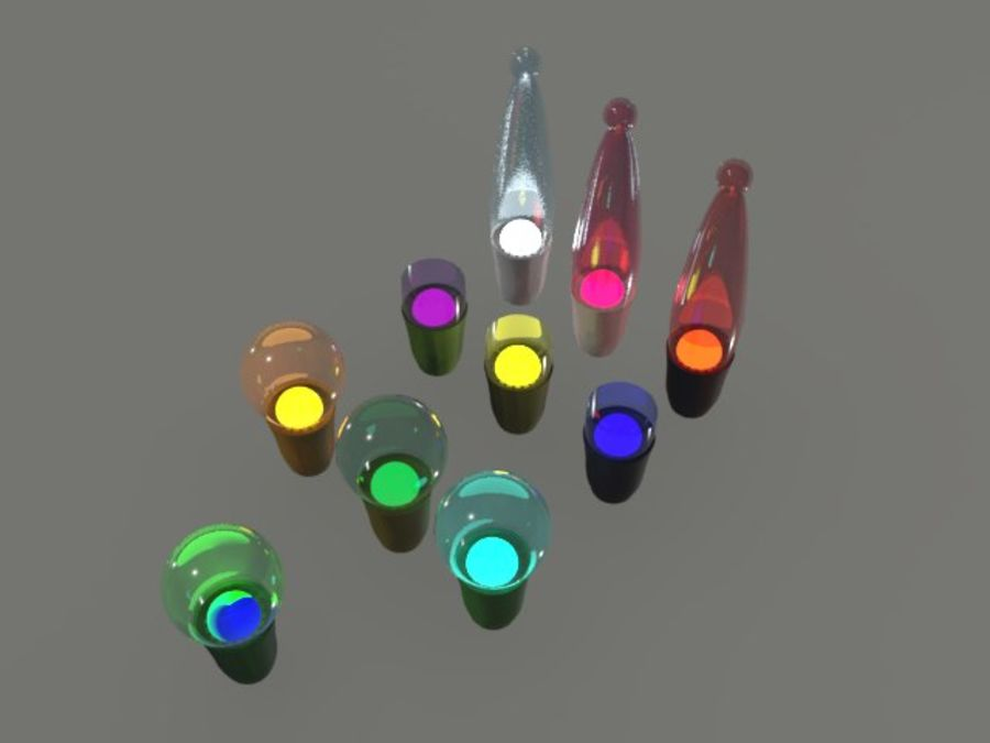 String Lights royalty-free 3d model - Preview no. 13