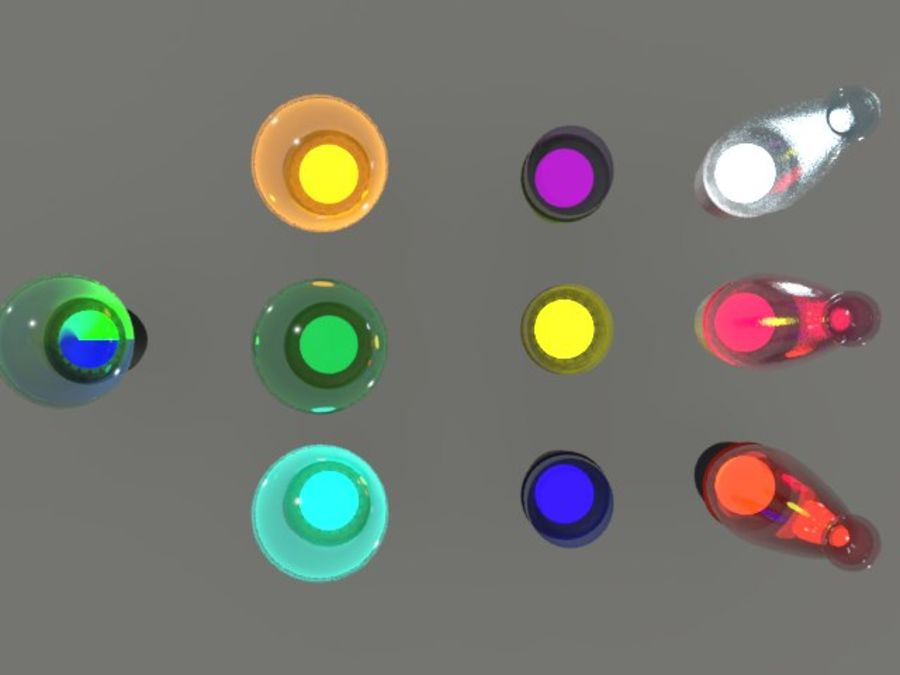 String Lights royalty-free 3d model - Preview no. 10