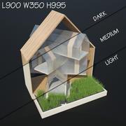 Kattens hus 3d model