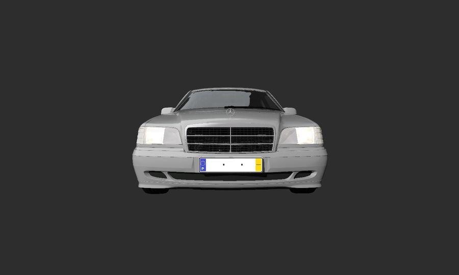 梅赛德斯C级w202 royalty-free 3d model - Preview no. 5
