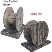 Balayage de bobine de câble 3d model