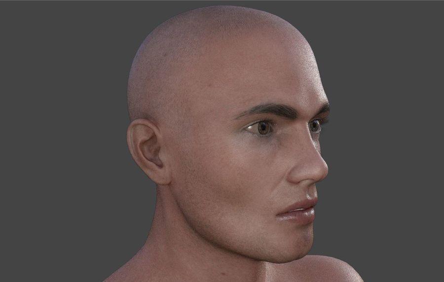 Körper männlich royalty-free 3d model - Preview no. 5
