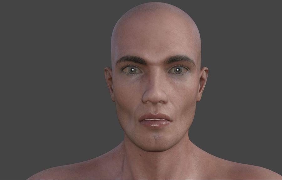 Körper männlich royalty-free 3d model - Preview no. 2