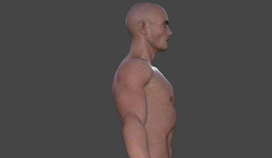 Körper männlich royalty-free 3d model - Preview no. 16