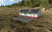 Old Gas Station From Texas Chainsaw Massacare 3d model