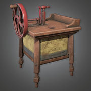 Old Washer (Antiquitäten) - PBR Game Ready 3d model