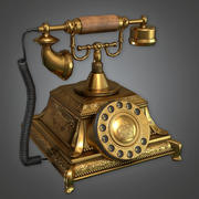 Old Phone (Antiques) - PBR Game Ready 3d model
