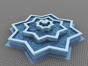 摩洛哥的传统喷泉 3d model