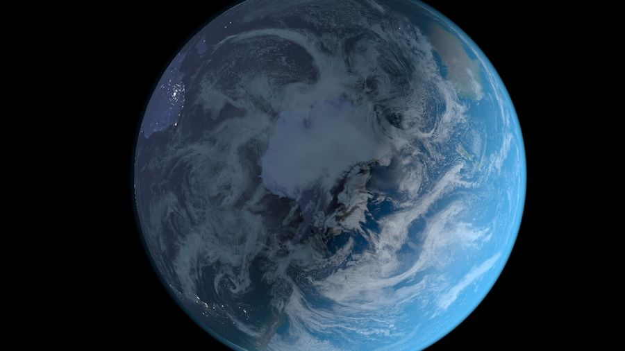 Earth royalty-free 3d model - Preview no. 6