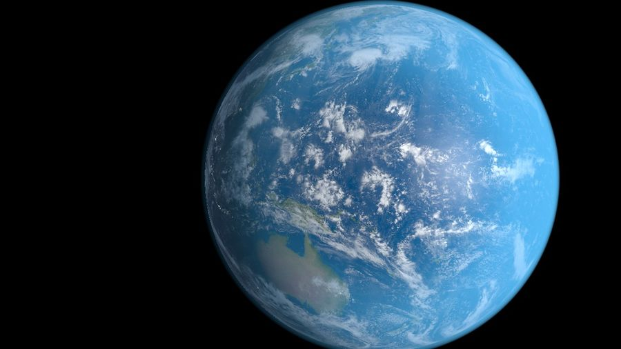 Earth royalty-free 3d model - Preview no. 2