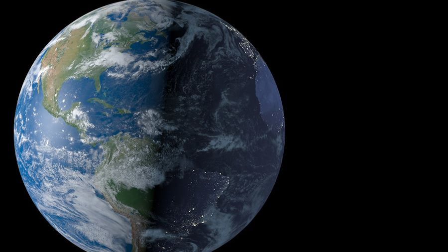 Earth royalty-free 3d model - Preview no. 5