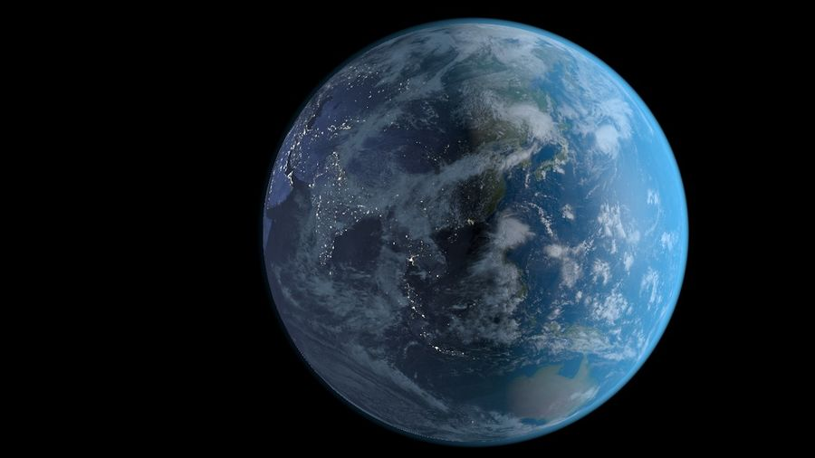 Earth royalty-free 3d model - Preview no. 1