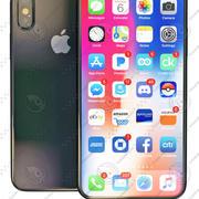 iPhoneX 3d model