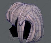 Fryzura 3D dla dziewczynki V12 3d model