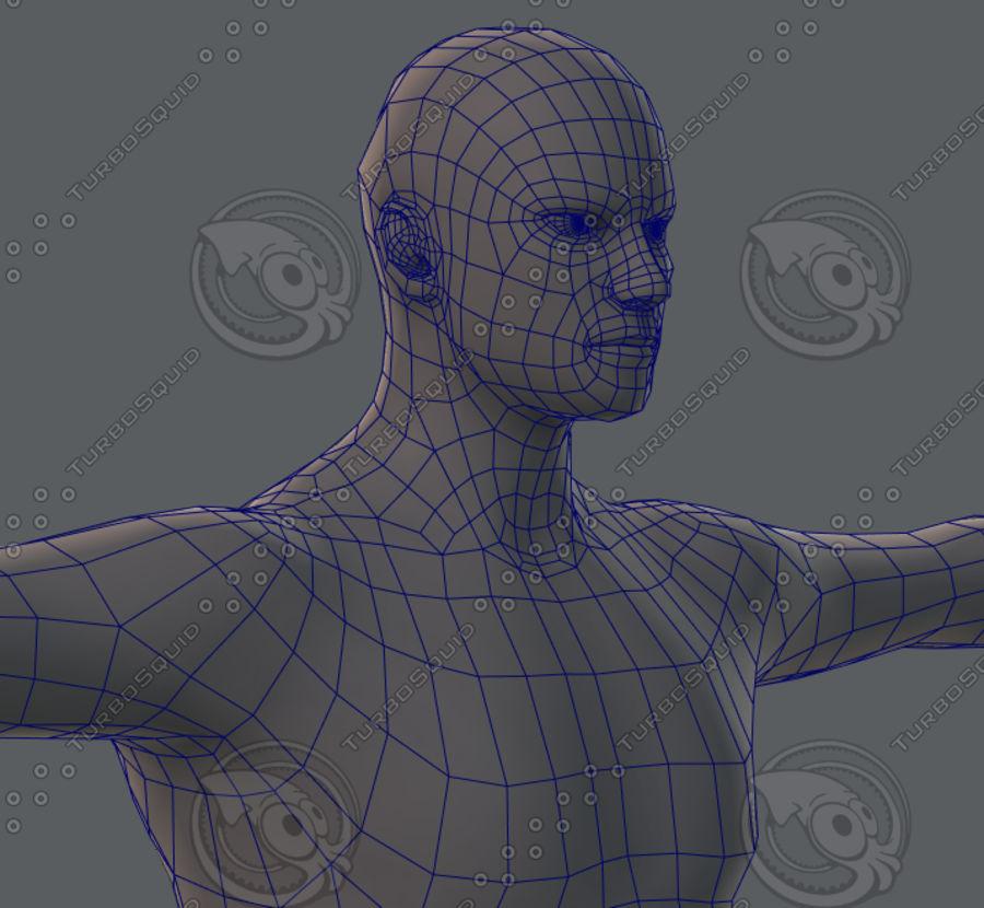 Base mesh man character royalty-free 3d model - Preview no. 61