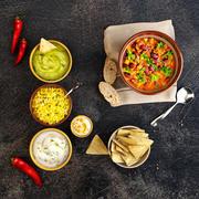 Mexican food 3d model