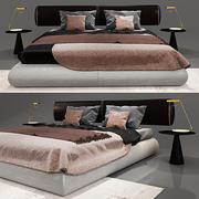COMO BED 3d model