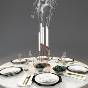 WEDGWOOD dinnerware set 1 3d model