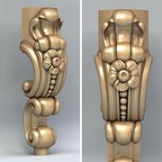 Мебельная ножка 013 3d model