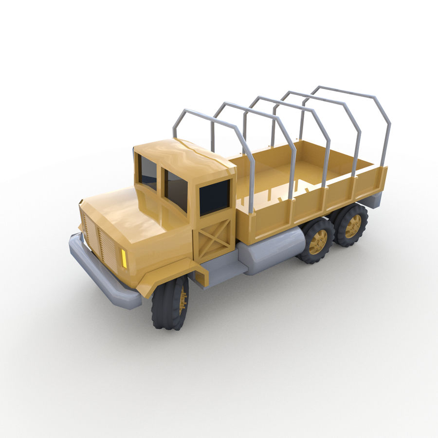 Military Vehicles Pack royalty-free 3d model - Preview no. 16